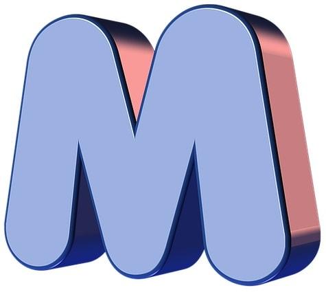 Letra M M Descripcion Imagen Ejemplos